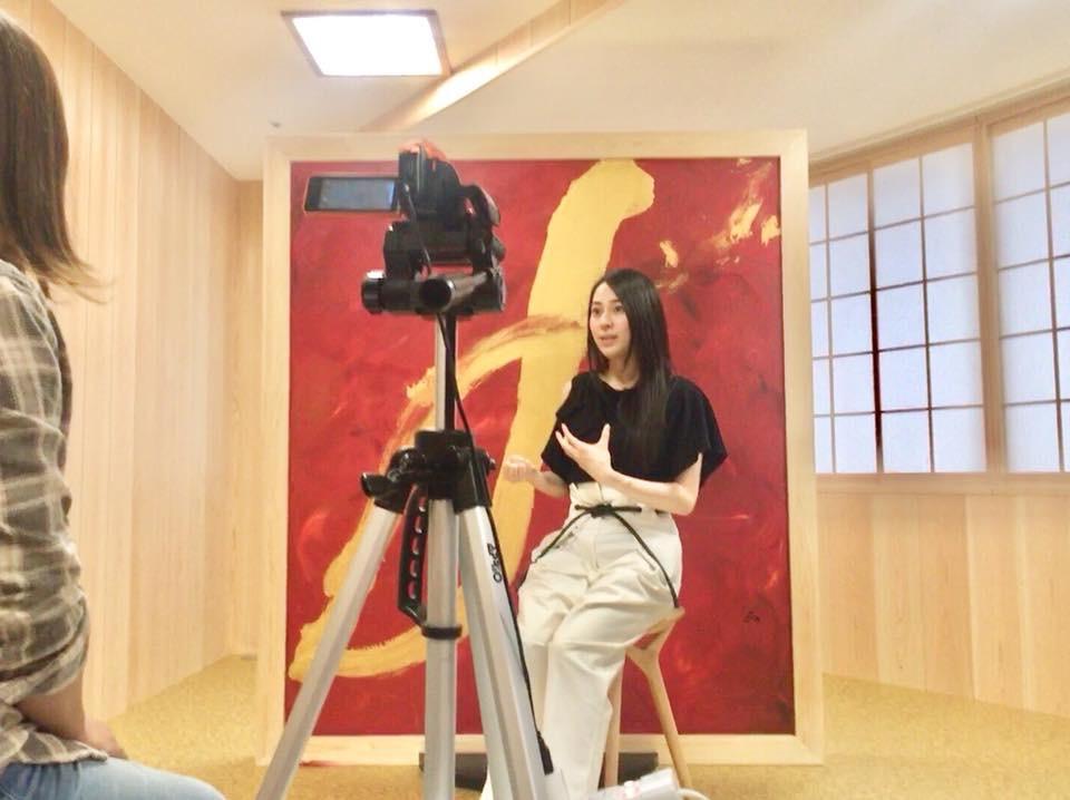 新作 紅畝「∞」のインタビューを受けました。